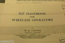 CDROM PDF Direction Finding Handbook for Wireless Operators