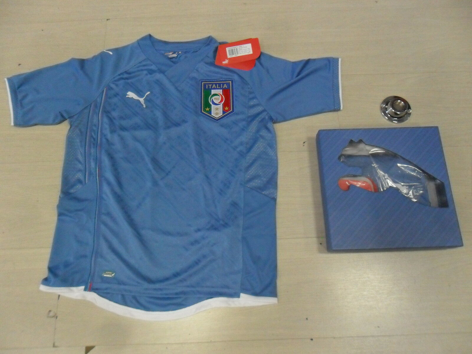 1148 SIZE XS ITALY ITALY T-SHIRT CONFEDERATIONS CUP 2009 SHIRT JERSEY