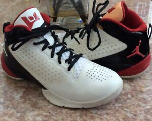 527efe5399b6 Air Jordan Fly Wade 2 (Kids) White   Varsity Red Black Shoes Size 6Y ...