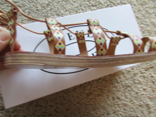 3babe9942a7f 2 of 6 New Steve Madden Reeeta Cognac Strappy Sandals Womens 6 Free Ship