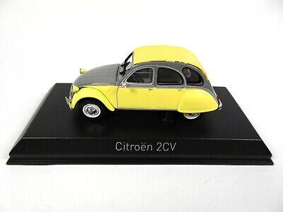 1985 NOREV 151398 yellow // grey 1//43 Citroen 2CV Dolly