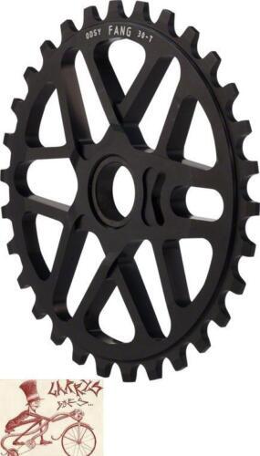 ODYSSEY TOM DUGAN FANG 25T BLACK BMX BICYCLE SPROCKET
