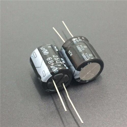5pcs 250V 68uF 250V Japan ELNA RJ4 18x20mm Audio Capacitor