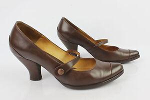 Scarpe con cinturino SAN MARINA Pelle Nera e Bordeaux T 37 ottima qualit