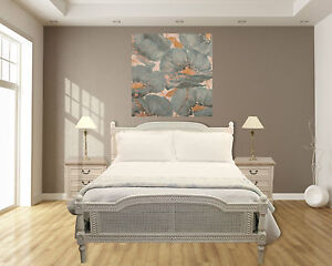 Super-Queen-Size-Full-Bed-French-Provincial-Plantation-Style-Mahogany-NEW