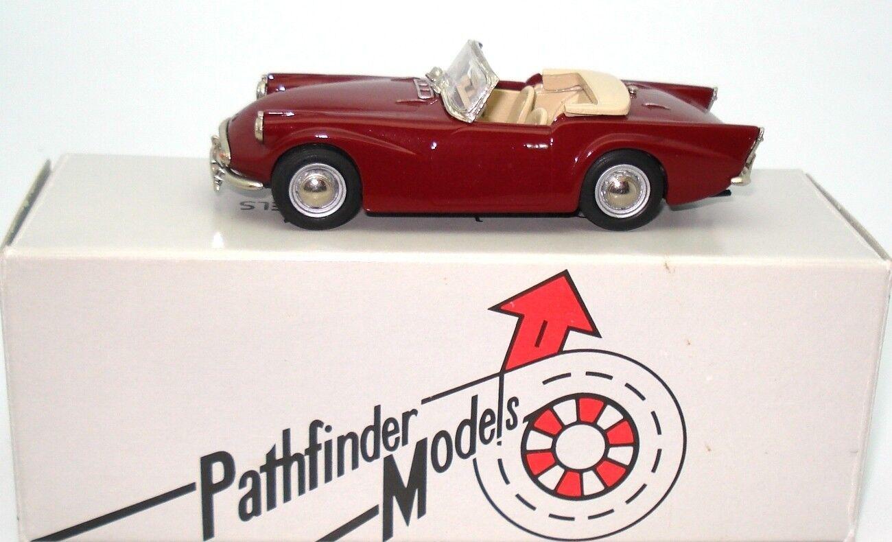 1 43 PATHFINDER MODELS DAIMLER SP250 WHITE METAL - MINT BOXED