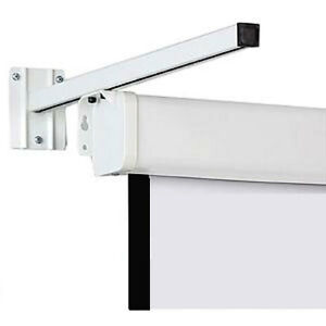 Image Is Loading A Pair Wall Mount Brackets For Projector Screens