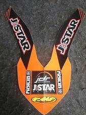 KTM SX/SXF 125-450 2007-2012 Team J-STAR front fender graphic GR1462