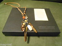 Silpada Designs Jewelry Brown Leather Necklace With Shells Retired N1495