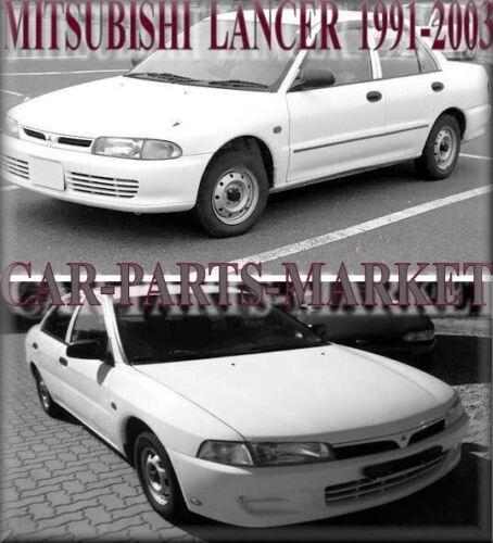 SINISTRO Lato Passeggero Piatto Ala Specchio Vetro per Mitsubishi Lancer 1991-2003