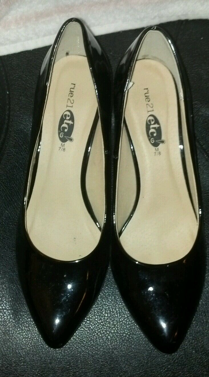Gentlemen/Ladies Rue21, Heels, highly size 7/8 Promotion Win highly Heels, appreciated Clearance sale 6866e9