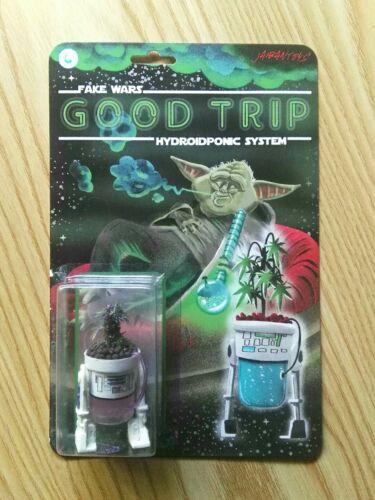 Star wars R2D2 Bootleg R2-HYDROIDPONIC SYSTEM purple haze Jaibantoys custom
