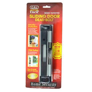 GREY High Security for Sliding Glass Doors CAL Double-Bolt Lock