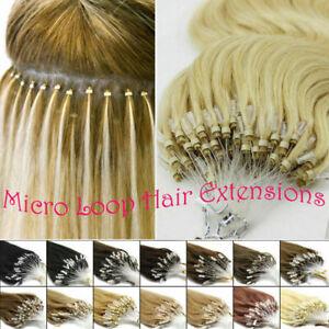 100-Indien-Extensions-de-Cheveux-Humains-Naturels-Remy-EASY-LOOP-micro-anneaux