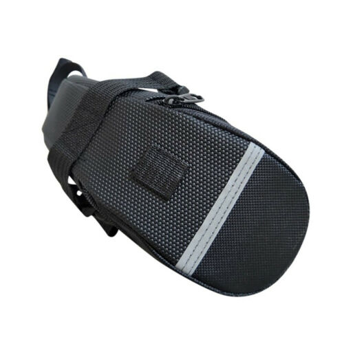 BL/_ MTB Bike Bicycle Saddle Bag Under Seat Storage Tail Pouch Cycling Rear Pack