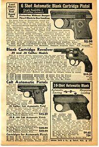 1941-small-Print-Ad-of-Colt-Automatic-25-Pistol-Blank-Revolver-amp-Pistol