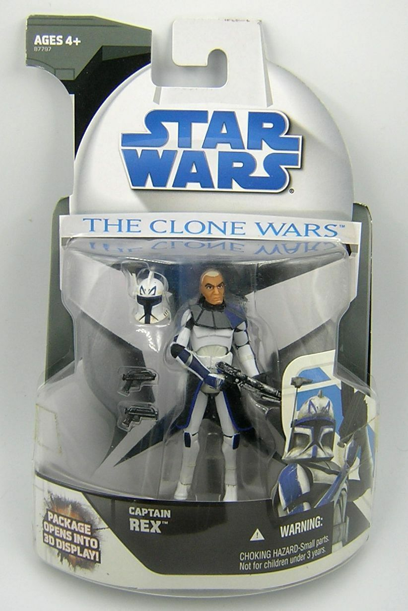 Star Wars Clone Wars CW Captain Rex Mail Away Exclusive