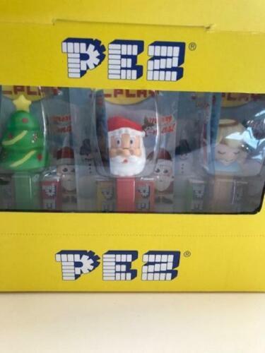 Pez Dispenser Winter Stars 2020 Christmas Tree  Father Christmas  Angel Reindeer