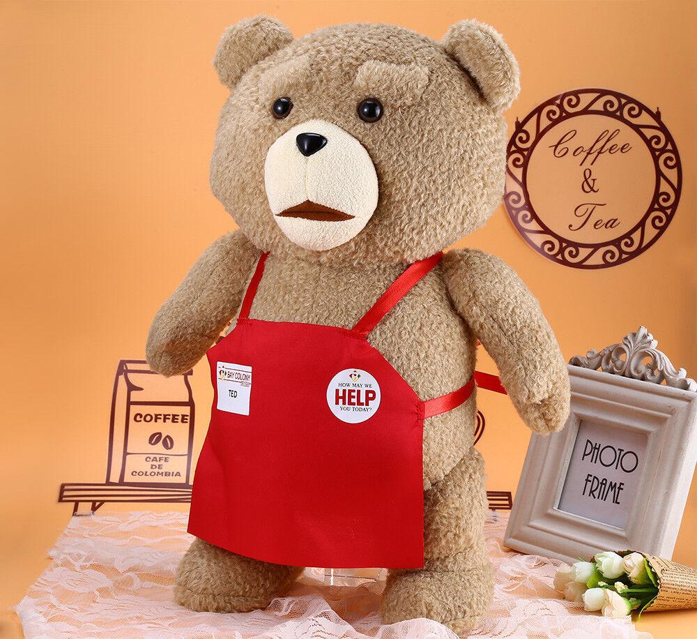 48CM 18.9'' Ted Movie Teddy Teddy Teddy Bear Shirt Plush Stuffed Animal Soft Toy Doll Pillow 9f8331