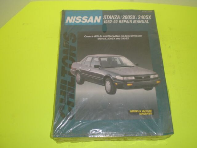 Chilton Nissan Sentra Pulsar 1982-1992 Repair Manual CH8309