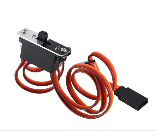 Rc Car On//Off Power Switch Receiver For Arrma Senton Granite Kraton Outcast