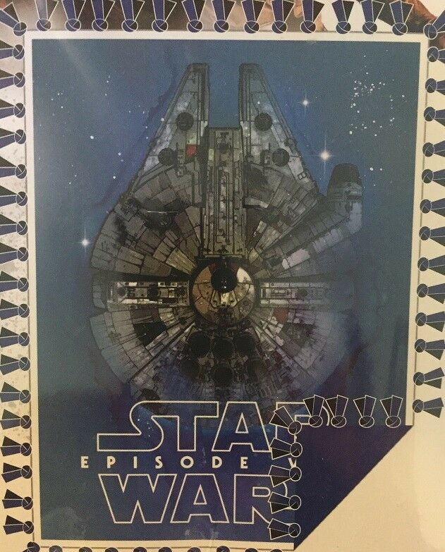 STAR WARS VIII THE LAST JEDI MILLENNIUM FALCON No Sew Fleece Throw Blanket kit
