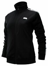 New Balance Women's NB Athletics Classic Track Jacket Black with White
