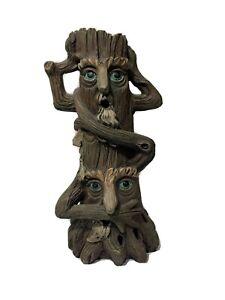 034-Hear-See-Speak-No-Evil-034-Tree-Trolls-Incense-Burner-Halloween-Decor