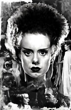 Bride of Frankenstein Elsa Lanchester 11 x 17 High Quality Poster