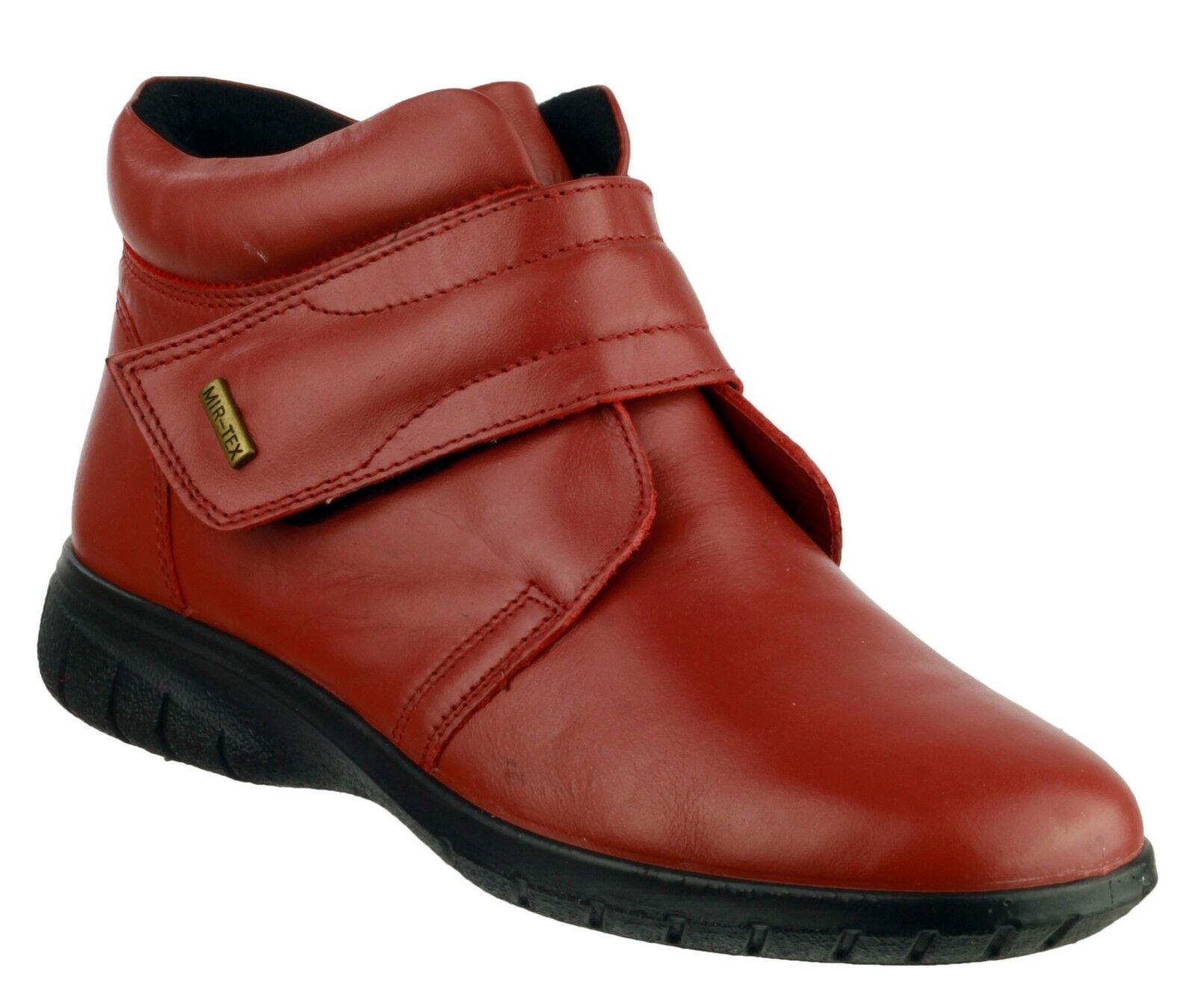 Cotswold Damenschuhe Leder Chalford Waterproof Touch Fastening Stiefel Style Chalford Leder C burgun 338281
