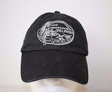PBR Professional Bull Riders Fan Club 2012 Adjustable Black Baseball Cap Hat
