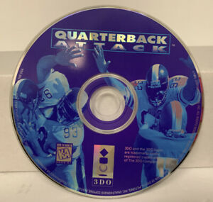 Quarterback Attack (Panasonic 3DO) DISC ONLY FAST SHIPPING!
