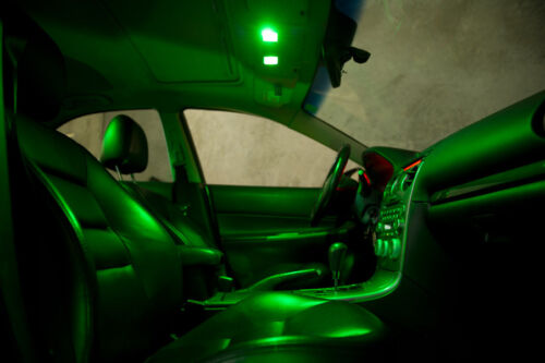 suits most cars 3x Green led wedge globes T10 5w dash /& number plate lights