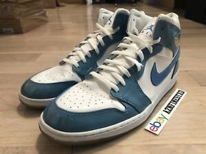 online store 67216 166a9 Image is loading 2003-Air-Jordan-Retro-1-Patent-Leather-Carolina-