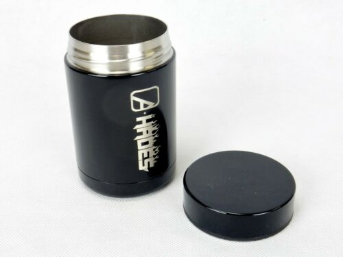 Thermal Cup w//Screw Lid Alpha Outpost Hades 12 oz Capacity Black Hot or Cold