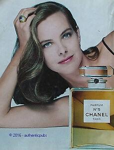publicite chanel n 5 parfum egerie actrice carole bouquet de 1993 french ad pub ebay. Black Bedroom Furniture Sets. Home Design Ideas