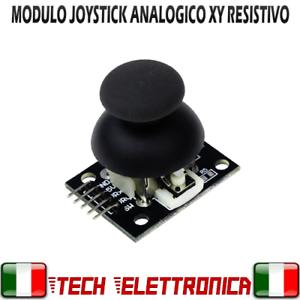 Modulo Joystick resistivo X-Y joypad arduino pic