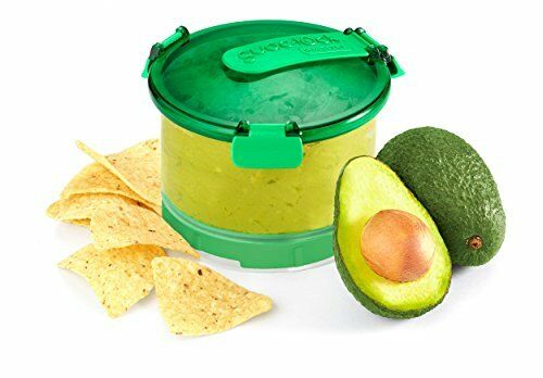 Guac-Lock Container Keep /& Store Guacamole Or Other Spread Fresh By
