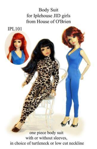 IPL101 Body Suit pattern to fit JID Iplehouse  girls