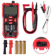 Digital Multimeter Trms Auto Ranging Dmm Voltage Capacitance Tester Temperature