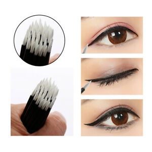 100pcs-Disposable-Nylon-Eyeliner-Wands-Applicator-Eyeliner-Lip-Liner-Brushes