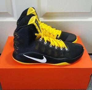 separation shoes bf0c2 d4842 Image is loading Nike-Hyperdunk-2016-SE-Basketball-Men-Shoes-Black-
