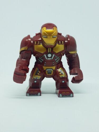 Iron Man  Large Custom Minifigure Iron Man Marvel Avengers Infinity War