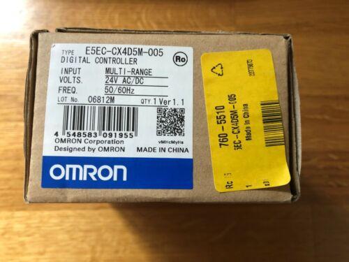 OMRON E5EC-CX4D5M-005 Digital Temperature Controller   24V AC//DC