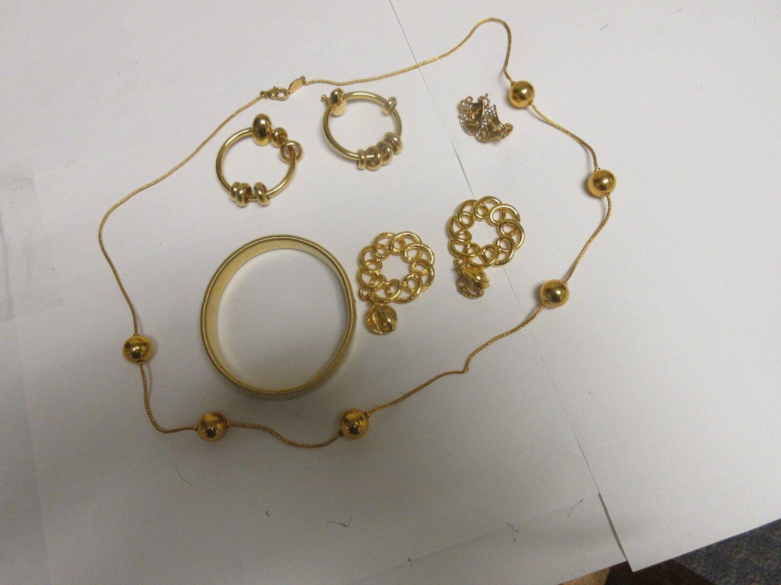 Costume Jewelry , Vintage , Napier 7 Piece Set