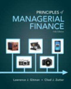 Principles of managerial finance by chad j zutter and lawrence j stock photo fandeluxe Images