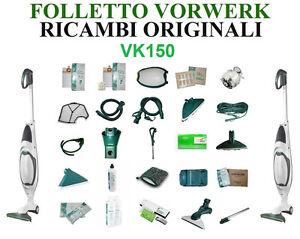 Motore Folletto Vk 150.Ricambi Sacchetti Filtri Motore Scheda Spazzola Originali Folletto