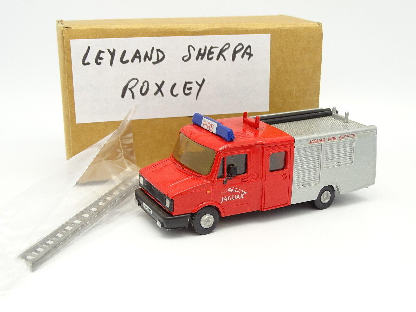 Roxley Roxley Roxley Kit Monté 1/50 - Leyland DAF 400 Fire & Rescue Pompiers Usine Jaguar a4916a
