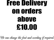 1 consegna gratuita su ordini segno per vetrina-AUTO-Decalcomanie-adesivo vinile