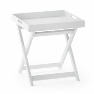 Furinno-Rolland-Folding-Tray-Side-Table-White